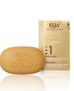 Gold Exfoliating Soap with Argan Oil 200g